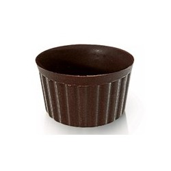 Copos de Chocolate sem Petit Four (Cx 432uni)