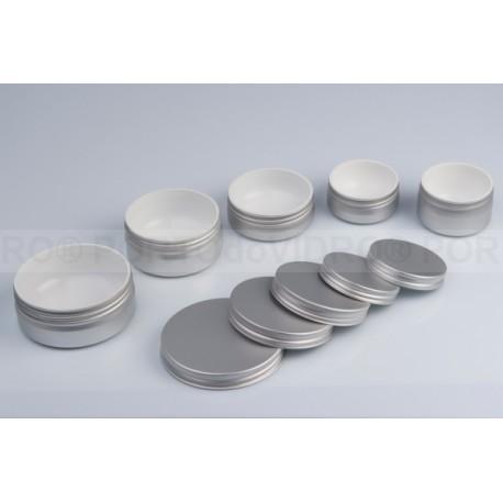 Embalagens em Alumínio com Interno em Plástico Branco