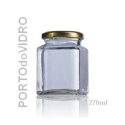 Frasco Quadrado 270ml