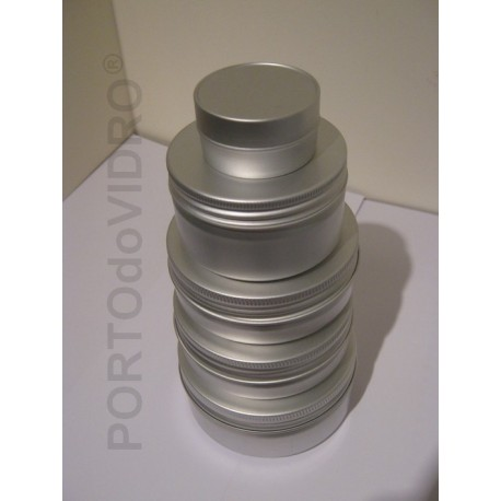 Embalagens Redondas em Aluminio